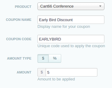 basic information for early bird discount